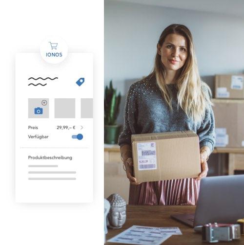 Shop auf eigener Website einbauen mit Shop-Integration