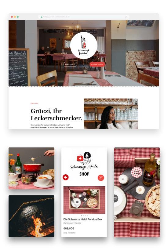 Schwarze Heidi Restaurant Bar Online-Shop Im Überblick