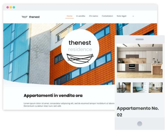Mywebsitenow templates realestate IT