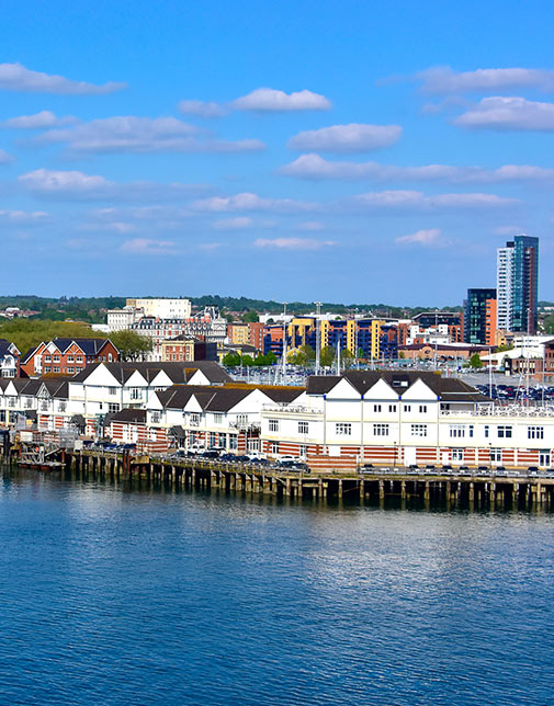 Skyline of Southampton