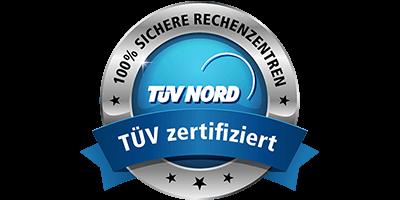 TÜV zertifizierte Rechenzentren bei 1&1
