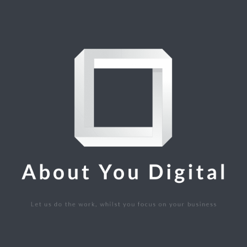 The logo of About you Digital in Liverpool