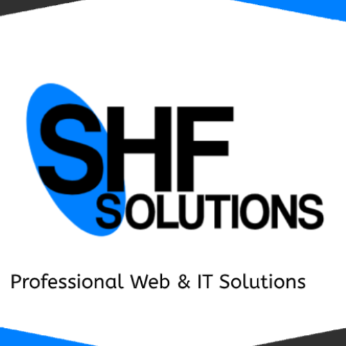 The logo of SHF Solutions in Notthingham