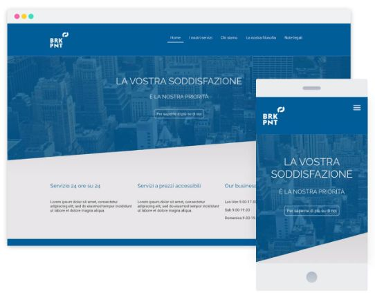 Mywebsitenow templates business IT