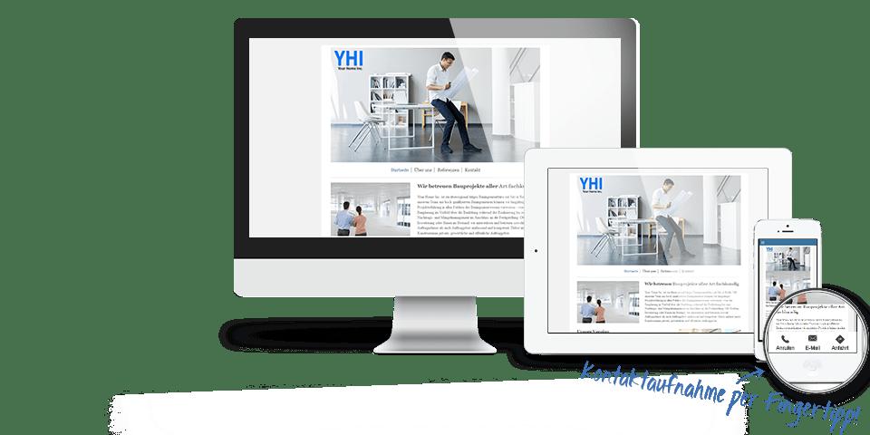 Homepage erstellen | Günstig eine eigene Website gestalten | 1&1