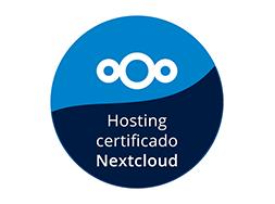 Logo Badge of Certified Nextcloud Hosting