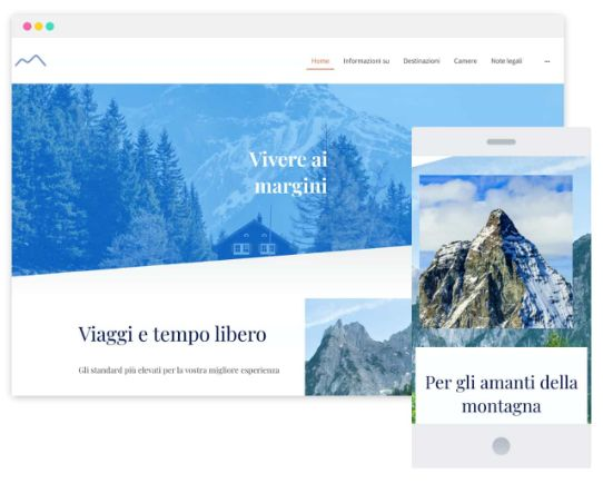 MyWebsite Now Templates Travel