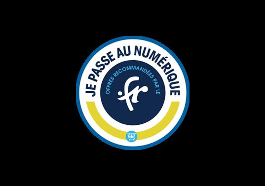 Logo AFNIC pour .FR Domaine