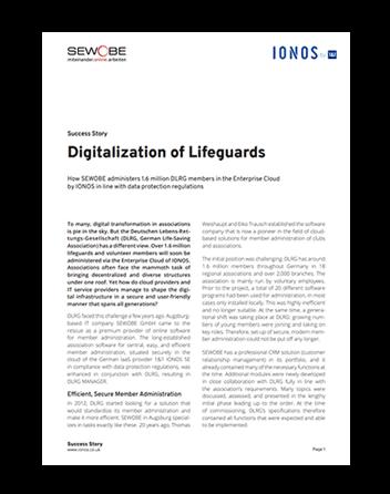 paper of ionos-enterprise-cloud-digitalization of Lifeguards