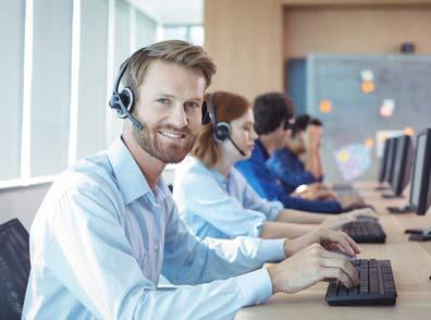 Employés des centres d'appel