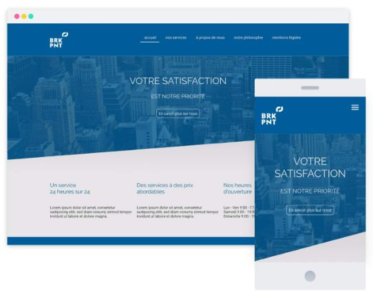 MyWebsite Now Template Business