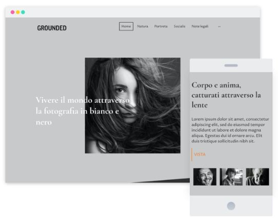 Mywebsitenow templates photography IT