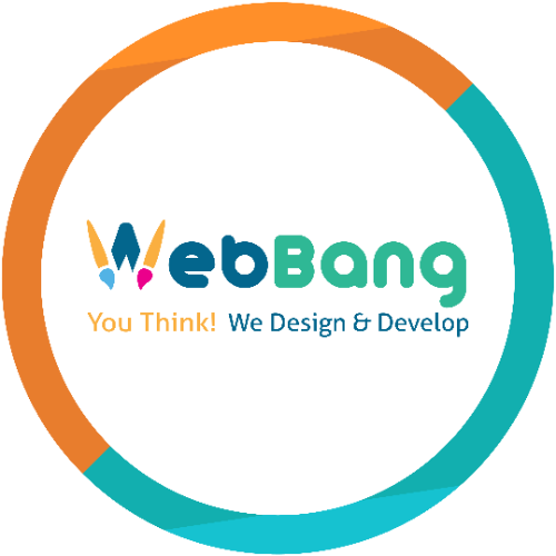 The logo of WebBang in London