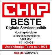 Award Chip best service 2021