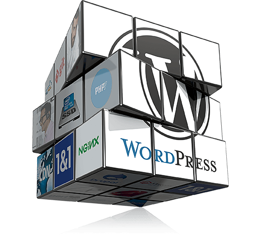 WordPress hosting with 1&1