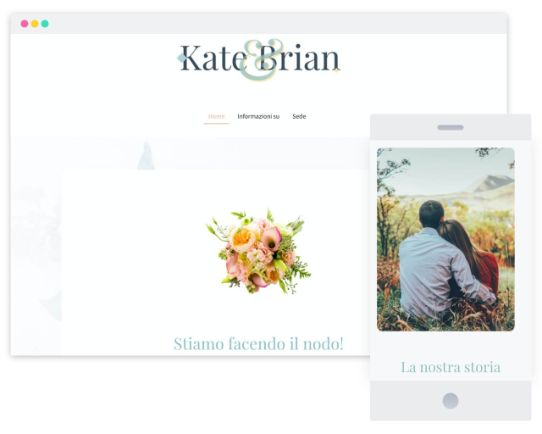 MyWebsite Now Templates Wedding