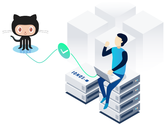 Deploy Now- Github and Ionos connected