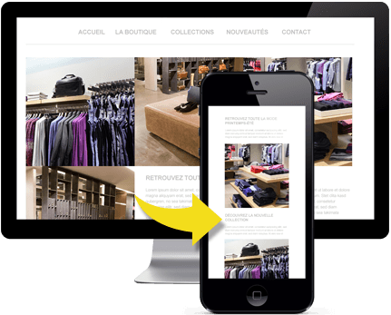 Créer un site mobile