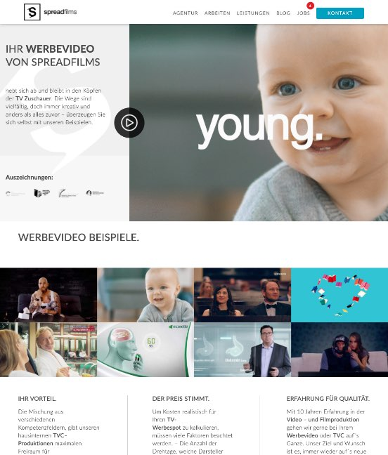 Spreadfilms GmbH Werbevideos