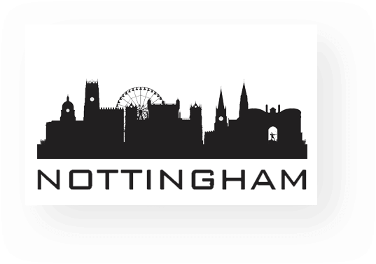 skyline of Nottingham