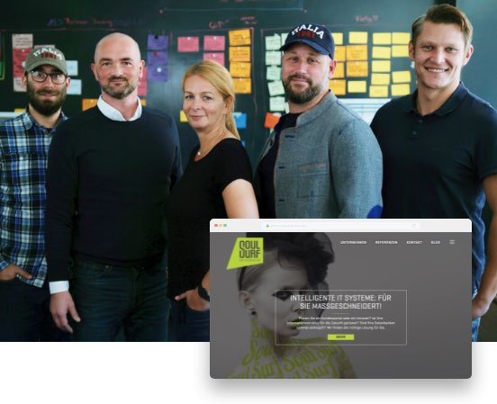 Soulsurf Digitalagentur für Websites und IT-Systeme - Team