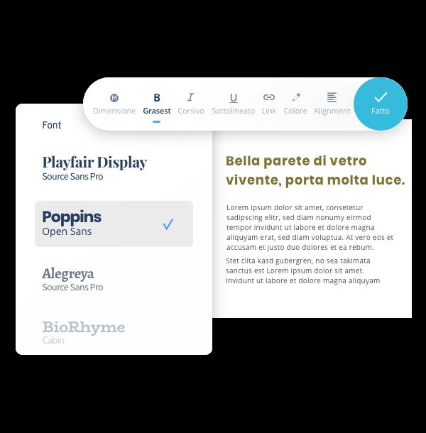 Mywebsitenow mediatext fonts IT