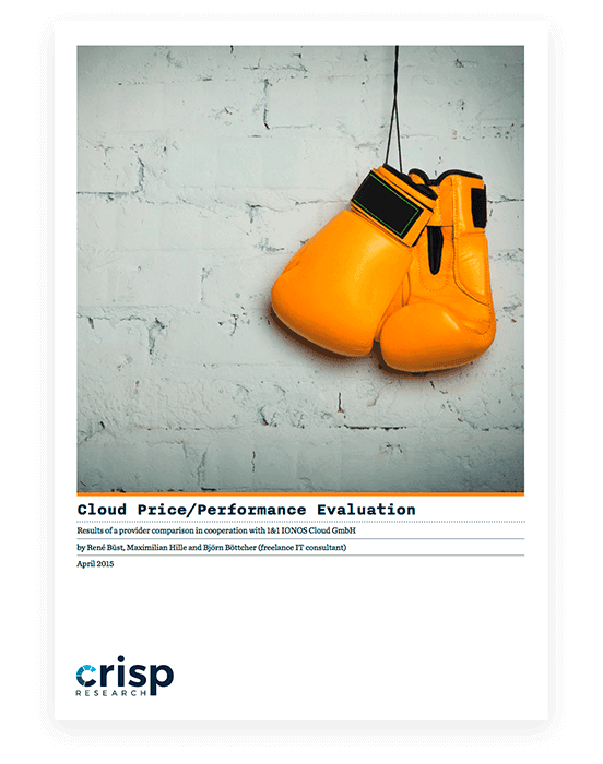 White paper from CRISP; A pair of yellow boxing gloves