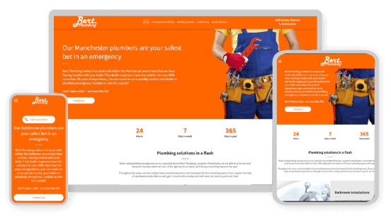 MyWebsite design service example services
